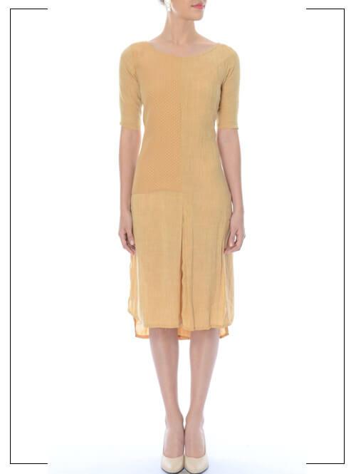 Ochre Straight Fit Dress