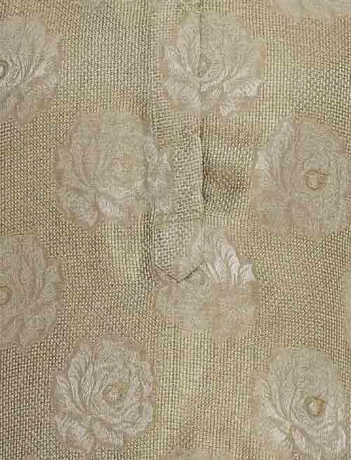 Golden Rose Jacquard Tunic Set